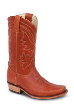 New Womens Amber Cowgirl Western Leather Boots REDHAWK 5708 Size 5-10 (B, M)