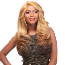 Sensationnel Synthetic Hair Empress Natural Curved Part Lace Front Wig - SHAKIRA
