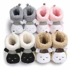 Baby Girls Cute Winter Warm Boots Newborn Toddler Infant Soft Sole Shoes 0-18 M