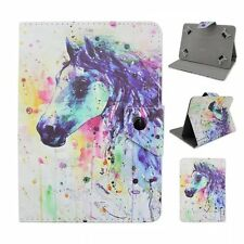 """Painting Horse PU Leather stand case cover for Universal 7"""" 8"""" tablets PC"""