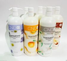 CND Creative Nail Scentsations HAND & BODY Lotion 31 oz/917 mL PICK YOUR SCENT!