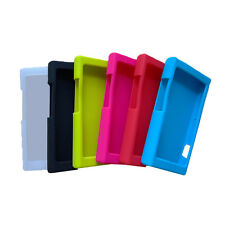 Silicone Gel Skin Case for Sony MP3 Walkman NWZ A35 A36 Rubber Cover +Screen Pro