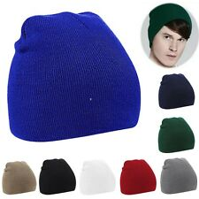 New Unisex Women Men Beanie Hat Warm Winter Short Ski skate Knit Hat Fashion