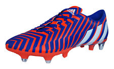 adidas Predator Instinct SG Mens Soccer Cleats / Football Shoes - Red and Purple