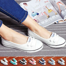 Womens' Casual Canvas Low Top Shoes Sneakers Running Leisure Ladies' Flats Shoes