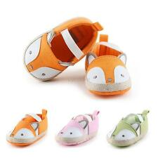 Toddler Baby Kids  Infant Boy Girls Cotton Soft Sole Cute Crib Shoes Prewalker