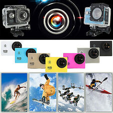 Mini SJ4000 Waterproof Sports DV DVR 720P HD Video Action Camera Camcorder 2.0''