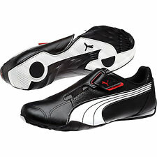 NEW** PUMA REDON MOVE LEATHER CASUAL MEN'S SHOES WHITE BLACK RED WHITE 185999 02