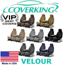 Coverking Velour Custom Seat Covers Cadillac CTS