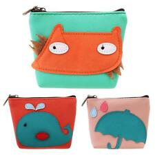 Fashion Kawaii Animal Change Purse Cartoon Coin Key Holder Case Mini Wallet