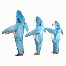 Kid Child Animal Shark Mascot Costume Fancy Dress Cosplay Party Outfit Halloween