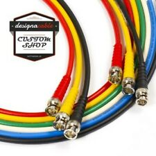 BNC to BNC lead. RG59 Composite Video, CCTV, Wordclock SMPTE 75ohm Coaxial Cable