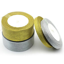 Silk Satin Ribbon 25yards Wedding Party Festive Decoration Craft Gifts Wrapping#