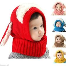 Fashion Baby Toddler Winter Beanie Warm Hat Crochet/Knitted Ball Earflap