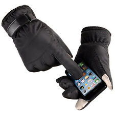 Winter Men's Waterproof Thinsulate Touchscreen Snow Gloves iPhone Texting Gloves
