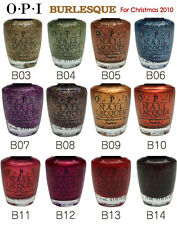 OPI from Burlesque Christmas Nail Polish Lacquer Glitter Collection