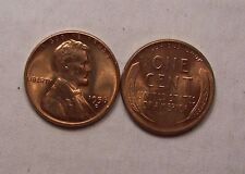 1956-D Lincoln Wheat Cent Choice Red Gem Brilliant Uncirculated BU !Full Luster!