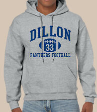 Dillon Panthers Friday Night Lights #33 Gray Hoodie High School Football Riggins