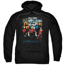"Star Trek TNG ""25th Anniversary Crew"" Hoodie, Crewneck, Long Sleeve"