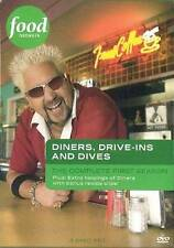 DINERS, DRIVE-INS AND DIVES the Complete First S. TV SERIES DVD GUY FIERI - NEW