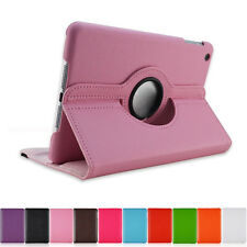Cheap 360 Rotating PU Leather Case Smart Cover Stand Fits For iPad2/3/4/iPad Air