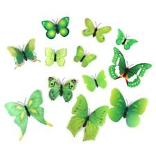12pcs 3D Artificial Butterfly Wedding Party Wall Home Decoration Sticker