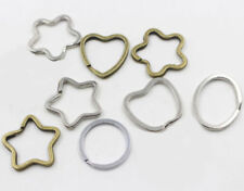 Lot 10pcs Metal Gold/Silver Key Accessories Holder Split Rings High Quality