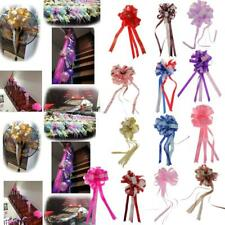 10pcs Pull Bows Ribbons Flowers Gift Wrapping Birthday Wedding Party Decor Craft
