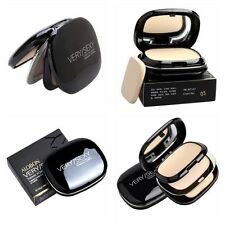 Face Pressed Powder Foundation Dry Wet Makeup Compact Contour Palette Skin Care