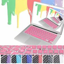 """Colorful Rubber MacBook Keyboard Cover for Macbook Air Pro Retina 11""""12"""" 13"""" 15"""""""