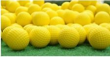 Yellow Foam Practice Golf Balls Available in 12, 24 or 36 Count