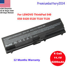 Battery For Lenovo ThinkPad T410 T510 42T4799 W510 W520 SL410 SL510 T520 adapter