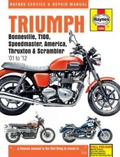 HAYNES Service Manual [English Revision Version] TRIUMPH BONNEVILLE800