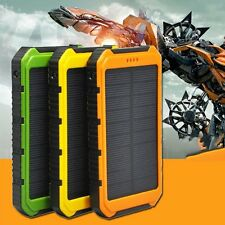18000mAh Solar Panel 2A 1A Battery Power Bank External Portable Phone Charger XP