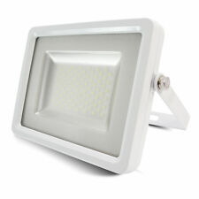 30W LED Floodlight Ultra Slim Outdoor Garden Security Lamp IP65 SMD White