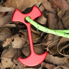 4pcs Floor Nail Tent Peg Path Camp Anchor Chains Outdoor Camping Tent Rope Hook