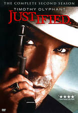 Justified: The Complete Second Season DVD, 2012, 3-Disc Set, NEW