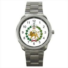 Iran Emblem Stainless Steel Sport Watch (Battery Included) - Tabard Surcoat