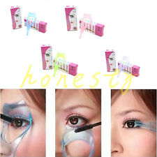 3 in 1 Cosmetic Tool Makeup Eyelash Curler Guard Applicator Comb Mascara Brush