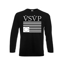 Original Schwarzmarkt Men's Long Sleeve Shirt VSVP Asap Rocky; dope obey