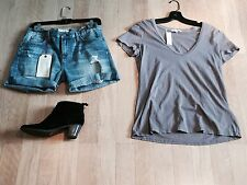 James Perse Casual T Red Ash  NWT JP4 or L Buttery Soft Cotton $65 Rare Sold Out