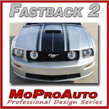 FASTBACK 2 BOSS Style Mustang GRAPHICS Stripes Decal 2009 - 3M Pro Grade 305
