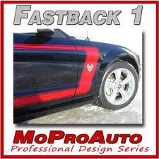 FASTBACK 1 Mustang Vinyl GRAPHICS Stripes Decal - 3M Pro Grade 2005 243