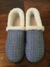TOMS Youth Gray Felt Tribal Slippers, Variety of Youth Sizes, NIB!