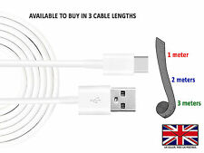 NEW USB Type C 3.1 Charging Data Transfer Sync Cable Lead 1 2 & 3 Meters