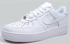 Nike AIR FORCE 1(GS) LOW 314192-117 'WHITE/WHITE' sz 6.5Y, 7Y
