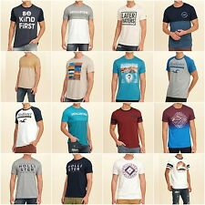 Authentic Men's Hollister T-Shirts - Many Colors and Sizes!