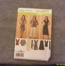 Simplicity Easy-to-Sew Pattern 3506 Misses'/Womens Dress Top Skirt Pants Jacket