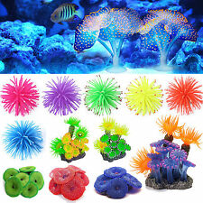 Artificial Underwater Plastic Coral Fish Tank Aquarium Plant Ornament Decoration
