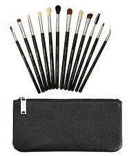 12 compete eye make up brush brushes set with clutch and box best xmas gift UK